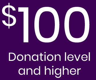 $100 Donation Level