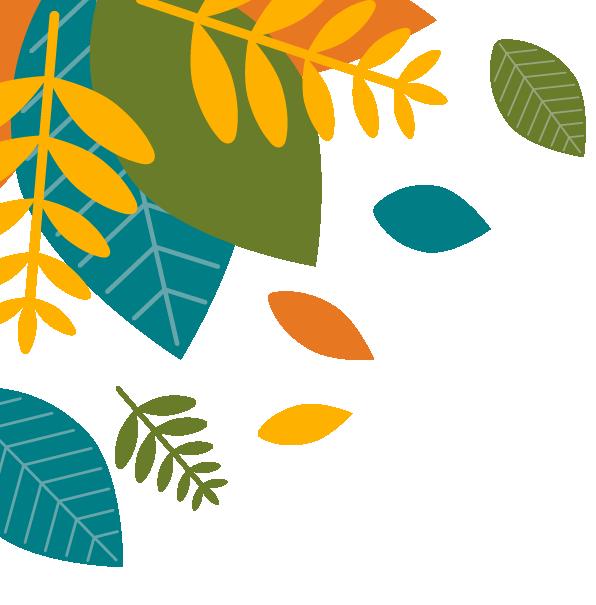 Leaf Background Top Left