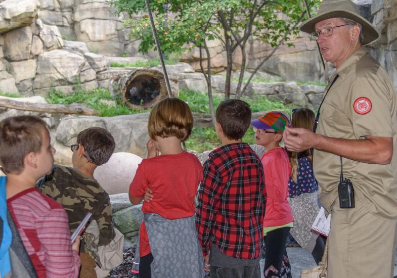 Kids On Zoo Tour