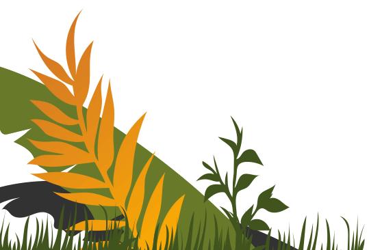Bottom Left Leaf Background