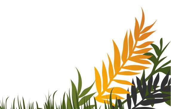 Bottom Right Leaf Background