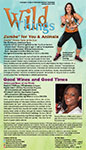 Wild Things Newsletter Cover