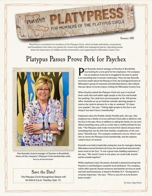 Platypress Newsletter