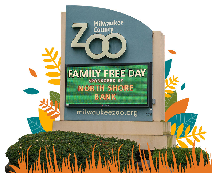 Zoo Entry Sign