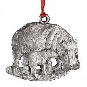 2010 Hippo Ornament