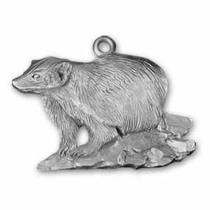 2002 Badger Ornament