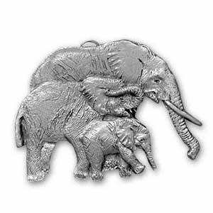 1995 Elephant Ornament
