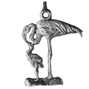 2007 Flamingo Ornament