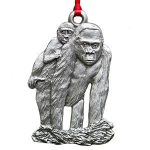 2015 Gorilla Ornament