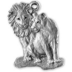 2005 African Lion Ornament