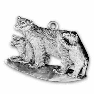 2000 Polar Bear Ornament