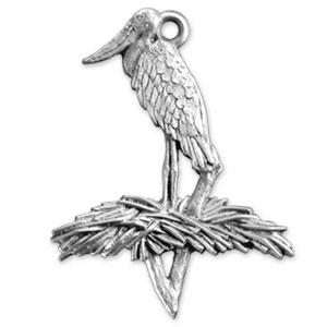 2004 Jabiru Stork Ornament
