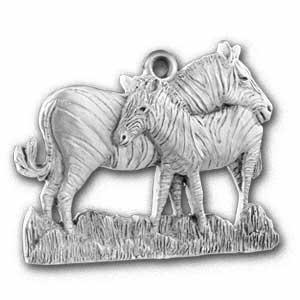 2001 Zebra Ornament