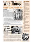 Wild Things Newsletter: April 2009