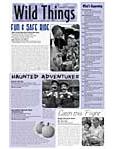 Wild Things Newsletter: September 2009