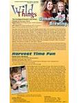 Wild Things Newsletter: September 2011